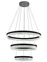 Недорогие -VALLKIN 3-Light Круглый Подвесные лампы Рассеянное освещение Электропокрытие Окрашенные отделки Металл Хрусталь, Регулируется 110-120Вольт / 220-240Вольт Теплый белый / Холодный белый / Белый / FCC