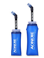 Недорогие -Бутылка спорта Легкость Регулируемая гибкая ТПУ на открытом воздухе за Рыбалка Походы Бег Синий
