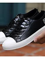 Недорогие -Муж. Комфортная обувь Микроволокно Лето Кеды Белый / Черный