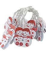 Недорогие -Праздничные украшения Рождественский декор Рождество Светодиодная лампа Белый 1шт