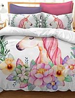Недорогие -одеяло для одеяла с односторонним орнаментом геометрическая полиэстерная реактивная печать 3 шт.
