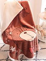 baratos -Flanela, Impressão Reactiva Geométrica Algodão cobertores
