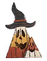 abordables -Décorations de vacances Décorations d'Halloween Halloween divertissant Décorative Marron 1pc