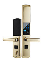 abordables -Factory OEM alliage de zinc Intelligent Lock Smart Home Security Système RFID / Mot de passe anti peeping / Mode de combinaison de porte multiple Maison / Bureau / Chambre / Appartement (Mode de