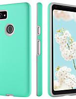 Недорогие -BENTOBEN Кейс для Назначение Google Pixel 2 XL Защита от удара / Ультратонкий / Wireless Charging Receiver Case Кейс на заднюю панель Однотонный Твердый ТПУ / ПК для Pixel 2 XL