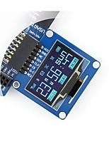 Недорогие -wavehare 1.3inch oled (a) 1.3inch oled spi / i2c интерфейсы изогнутые / горизонтальные булавщики