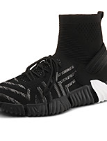 cheap -Men's Comfort Shoes Tissage Volant Spring & Summer / Fall & Winter Sporty / Casual Sneakers Running Shoes / Fitness & Cross Training Shoes Non-slipping Black / Red / Gray