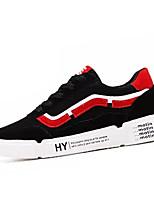Недорогие -Муж. Комфортная обувь Полиуретан Осень На каждый день Кеды Нескользкий Контрастных цветов Черный / Красный / Черный / зеленый / Черный / синий