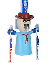 Недорогие -Стакан для зубных щеток Оригинальные Модерн пластик 1 комплект Зубная щетка и аксессуары