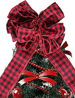 Недорогие -Праздничные украшения Рождественский декор Рождество Декоративная Красный 1шт