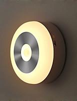 billiga -1set LED Night Light Varmvit / Kallvit AAA Batterier Drivs Smart / Infraröd sensor / Trådlös 5 V