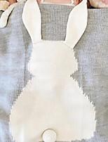 baratos -Flanela, Impressão Reactiva Desenho Animado Algodão / Poliéster cobertores