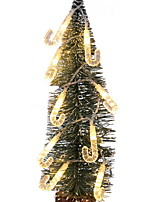 abordables -2,5 m Guirlandes Lumineuses 20 LED Blanc Chaud Décorative 120-240 V / Piles AA alimentées 1 set