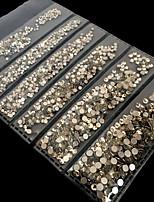 billiga -1440 pcs Paljetter Klassisk / Bästa kvalitet Romantisk serie Bröllop nagel konst manikyr Pedikyr Jul / Fest / afton / Kontor / Karriär Artistisk / Aristokrat Lolita
