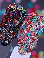 baratos -1 pcs Jóias de Unhas Strass Clássico / Alta Transparência Casamento Bola arte de unha Manicure e pedicure Festa / Noite / Diário / Festa de Noivado Artistíco / Lolita Aristocrata