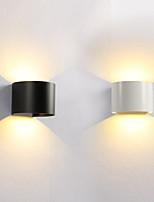 Недорогие -Мини LED / Модерн Настенные светильники Спальня / Ванная комната Металл настенный светильник IP54 85-265V 6 W