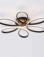 baratos -Sputnik Montagem do Fluxo Luz Ambiente Acabamentos Pintados Metal silica Gel Novo Design AC100-240V Branco Quente / Branco