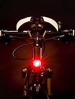 Недорогие -задние фонари Светодиодная лампа Велосипедные фары Велоспорт Водонепроницаемый, Портативные, Быстросъемный Перезаряжаемая батарея 500 lm Перезаряжаемая батарея Красный Велосипедный спорт - ROCKBROS