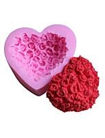 Недорогие -Инструменты для выпечки Силикон 3D / Творческая кухня Гаджет Торты / Шоколад / конфеты Формы для пирожных / Десертные инструменты 1шт