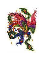Недорогие -1 pcs Временные татуировки Защита от влаги / Лучшее качество / Креатив Корпус / назад Наклейка для переноса воды Временные тату