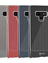 Недорогие -Кейс для Назначение SSamsung Galaxy Note 9 Защита от удара / Ультратонкий Кейс на заднюю панель Полосы / волосы Мягкий ТПУ для Note 9