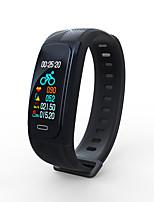 abordables -Bracelet à puce UW200 pour Android iOS Bluetooth GPS Sportif Imperméable Moniteur de Fréquence Cardiaque Calories brulées Chronomètre Podomètre Rappel d'Appel Moniteur de Sommeil