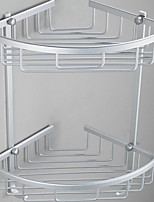 baratos -Prateleira de Banheiro Novo Design / Legal Modern Aço Inoxidável 1pç Montagem de Parede