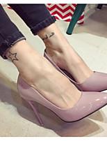 abordables -Femme Chaussures de confort Cuir Verni Printemps été Chaussures à Talons Talon Aiguille Noir / Rouge / Chair