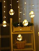 Недорогие -4.6м Гирлянды 138 светодиоды Тёплый белый Декоративная 220-240 V 1 комплект