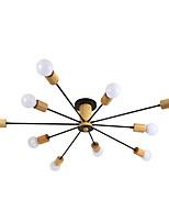 Недорогие -QINGMING® 10-Light Мини Люстры и лампы Рассеянное освещение Окрашенные отделки Металл Мини 110-120Вольт / 220-240Вольт