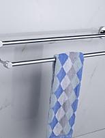 abordables -Barre porte-serviette Design nouveau / Cool Moderne Acier inoxydable 1pc Barre à 2 tours Montage mural