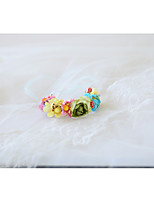 Недорогие -Свадебные цветы Букетик на запястье Свадьба / Свадебные прием Тиснённая бумага / пена 0-10 cm