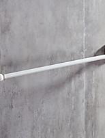 abordables -Barre porte-serviette Créatif Moderne Aluminium 1pc Barre à 1 serviette Montage mural