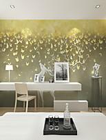 abordables -fond d'écran / Mural Toile Revêtement - adhésif requis Couleur Pleine / Décoration artistique / 3D