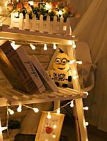 abordables -3M Guirlandes Lumineuses 100 LED Blanc Chaud Décorative 220-240 V 1 set