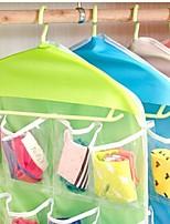 Недорогие -удобство 16 сетки хранения сумки пространство заставка организатор шкаф хранения нижнее белье носок хранения сумка