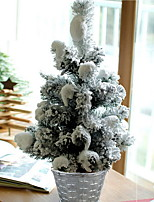 baratos -Árvores de Natal Natal Plástico árvore de Natal Desenho Animado Decoração de Natal