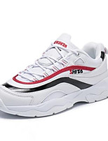 baratos -Mulheres Sapatos Confortáveis Com Transparência Verão Tênis Sem Salto Branco / Amarelo / Vermelho