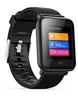 abordables -Bracelet à puce Q9 pour Android iOS Bluetooth GPS Sportif Imperméable Moniteur de Fréquence Cardiaque Mesure de la pression sanguine Podomètre Rappel d'Appel Moniteur d'Activité Moniteur de Sommeil