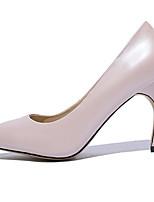 Недорогие -Жен. Балетки Овчина Весна Обувь на каблуках На шпильке Черный / Розовый / Телесный