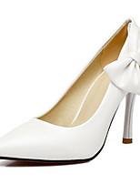 Недорогие -Жен. Комфортная обувь Овчина Весна Обувь на каблуках На шпильке Белый / Синий / Розовый / Свадьба / Повседневные