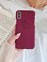 abordables -Coque Pour Apple iPhone XR / iPhone XS Max Dépoli / Motif Coque Bande dessinée Dur PC pour iPhone XS / iPhone XR / iPhone XS Max