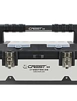 baratos -caixa de ferramentas de aço inoxidável grosso portátil multi-função de hardware reparação do carro em casa