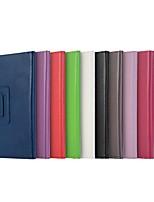 Недорогие -Кейс для Назначение Huawei Huawei MediaPad T3 8.0 / Huawei MediaPad T3 7.0 / MediaPad M5 8 Защита от удара / со стендом / Ультратонкий Чехол Однотонный Твердый Кожа PU