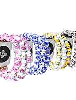 abordables -Bracelet de Montre  pour Apple Watch Series 4/3/2/1 Apple Design de bijoux Céramique Sangle de Poignet