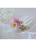 Недорогие -Свадебные цветы Букетик на запястье Свадьба / Свадебные прием Кружево / Ткань 0-10 cm