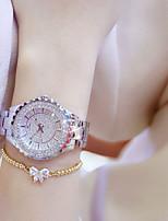 abordables -Femme Montre Bracelet Quartz Chronographe Imitation de diamant Alliage Bande Analogique Luxe Elégant Argent / Doré / Or Rose - Or Argent Or Rose / Acier Inoxydable