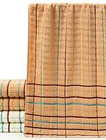 abordables -Qualité supérieure Serviette, Ecossais / à Carreaux 100% Coton Chambre à coucher 1 pcs