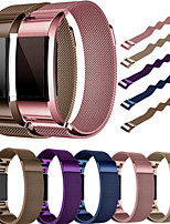 billiga -Klockarmband för Fitbit Charge 2 Fitbit Milanesisk loop Rostfritt stål Handledsrem