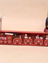 Недорогие -Праздничные украшения Рождественский декор Рождество Декоративная Красный / Зеленый 1шт
